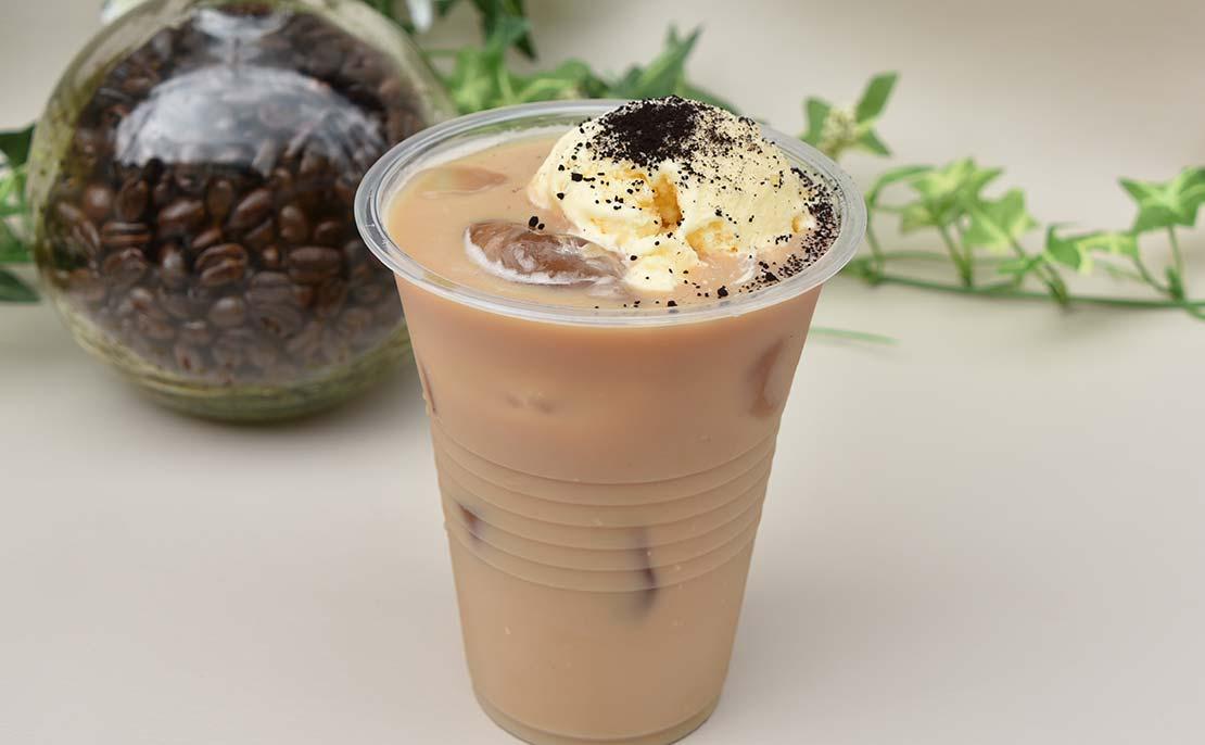 バニラアイスコーヒー牛乳